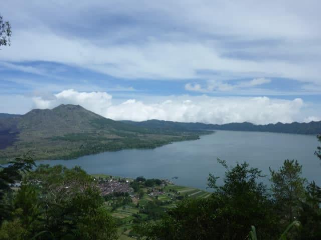Bali Mount Lac de volcan Batur Bali Authentique