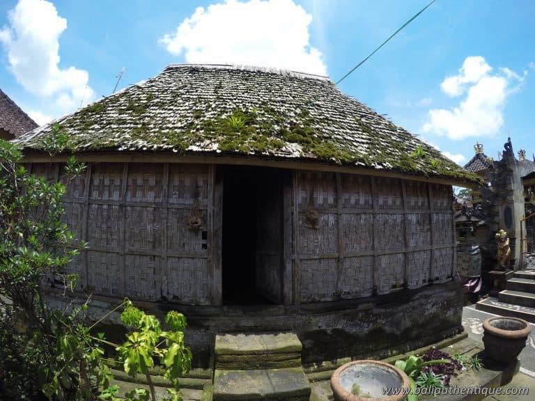 Bali penglipuran maison d'origine tradition