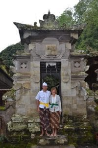 Bali en famille temple