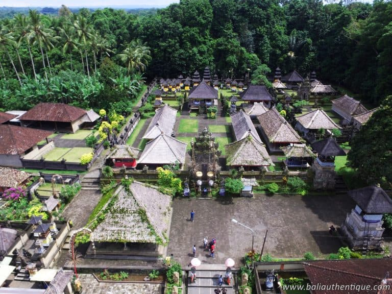 Bali temple traditionnel penglipuran pano