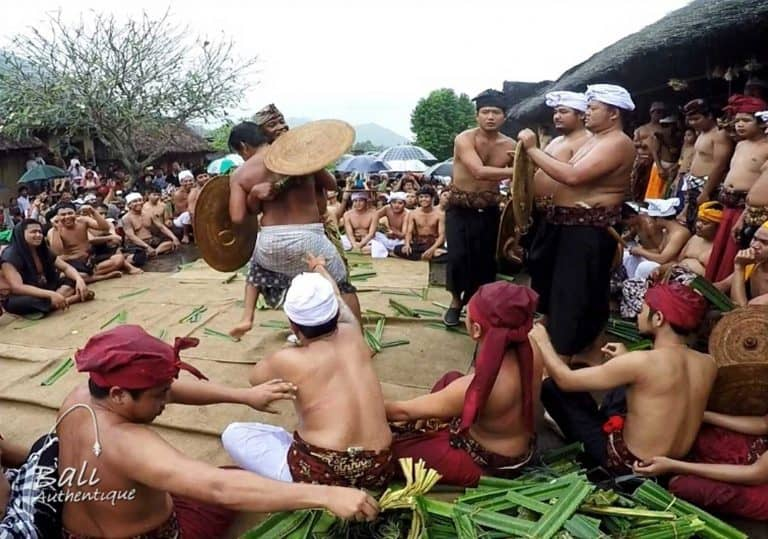 Bali Tenganan tradition megeret war
