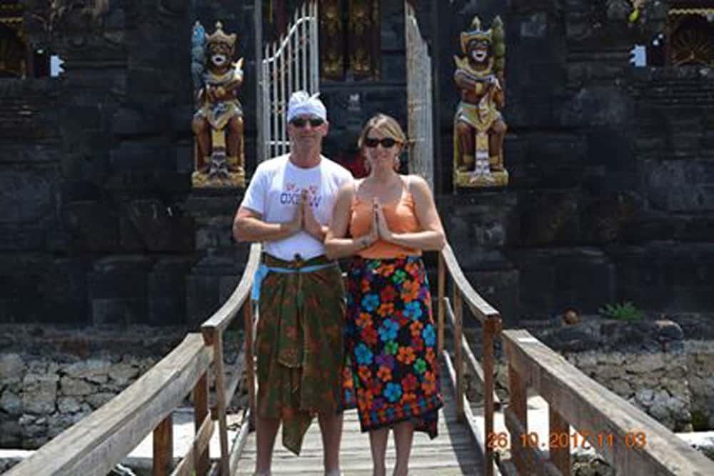 Bali testimonial Gwénaëlle et Raphaël client Baliauthentique