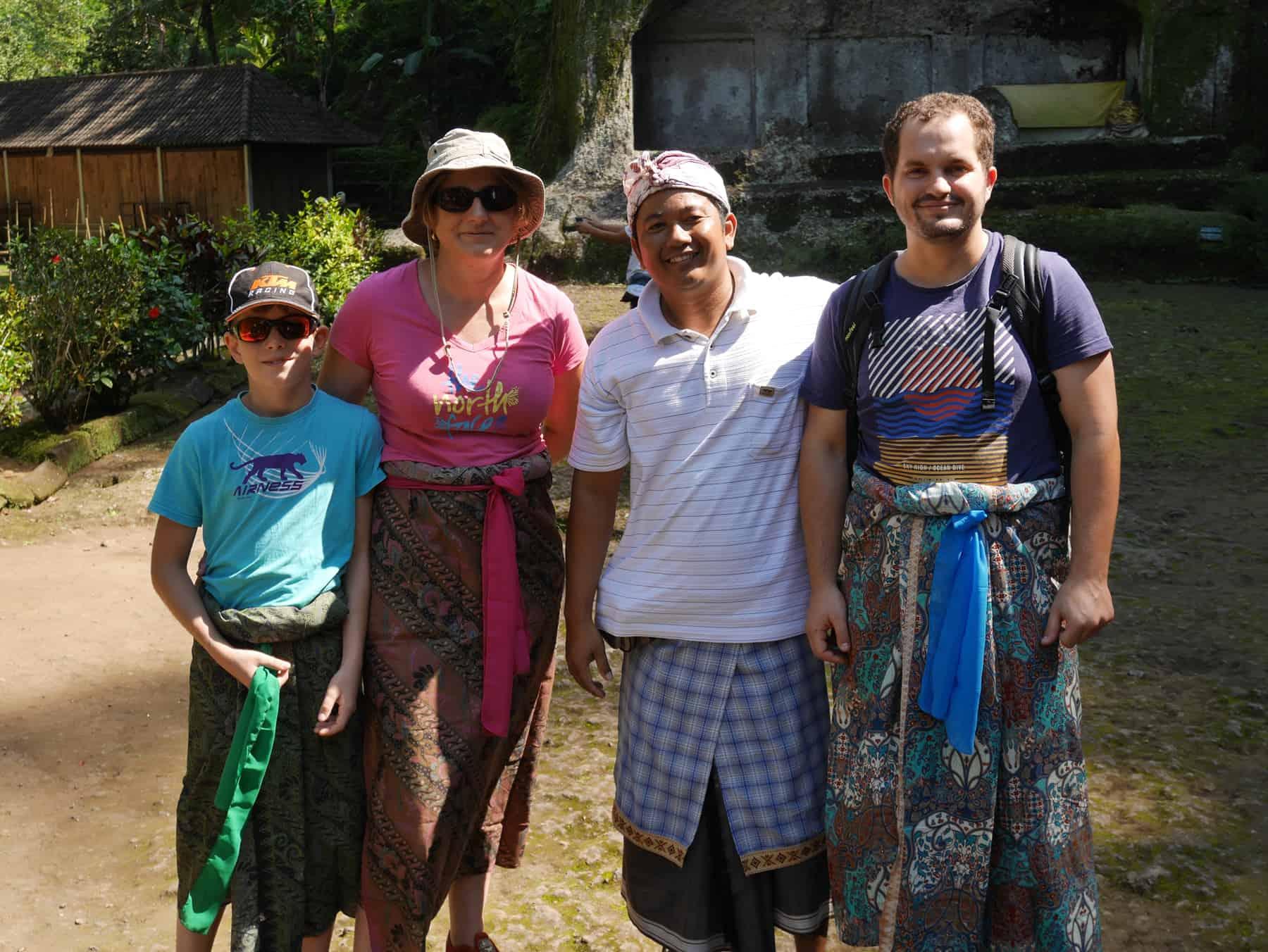 Bali testimonial Stéphanie Arnaud Alex guide Nengah Baliauthentique