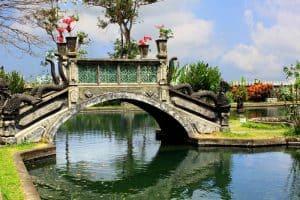 Bali Tirta Gangga bridge Bali Authentique