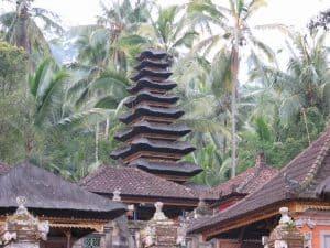 Bali tradition temple tampak siring