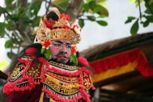 Bali traditional dance mask Bali Authentique