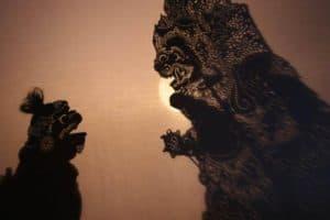 Bali traditional doll wayang