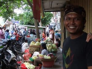 Bali traditional market Bali Authentique guide komang
