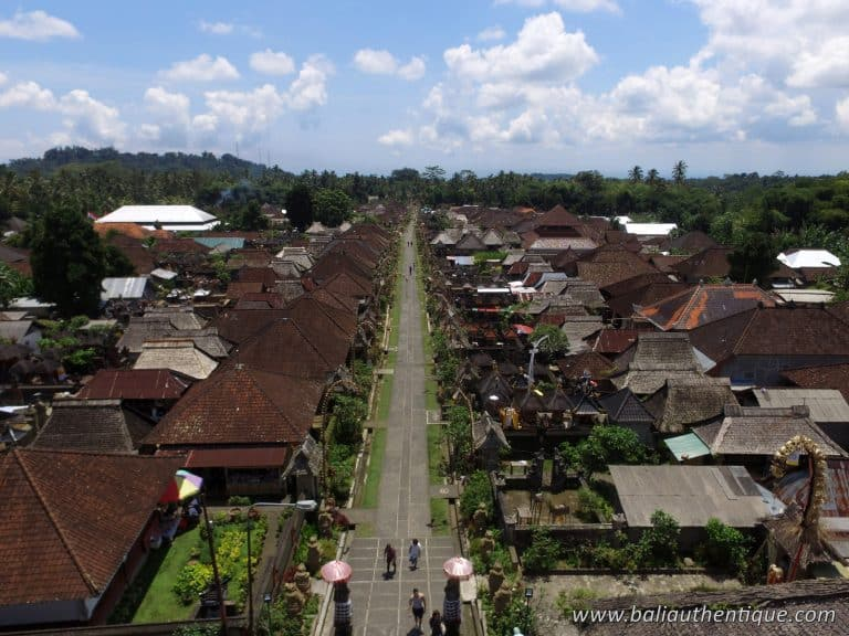Bali traditionnel village penglipuran