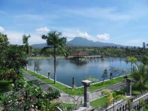 Bali ujung garden pool karangasem Bali Authentique