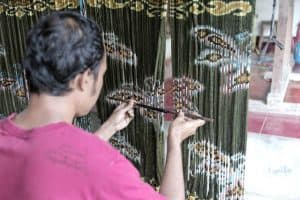 Balinese cloth traditional factory hand made