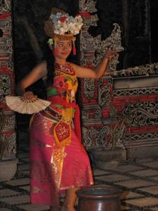 Balinese traditional dance joged