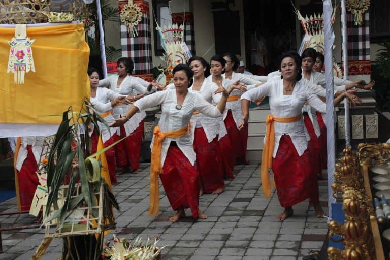 Danses locales au Banjar indonésie