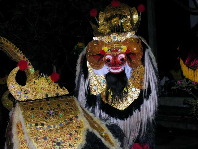 barong creature balinaise culture decouverte