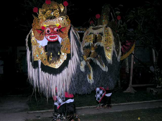 barong creature balinaise culture