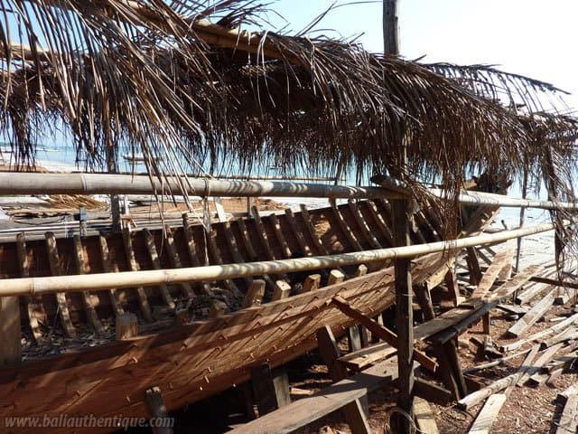 bateau bugis sulawesi pecheur