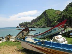 paysage bateau circuit indonésie