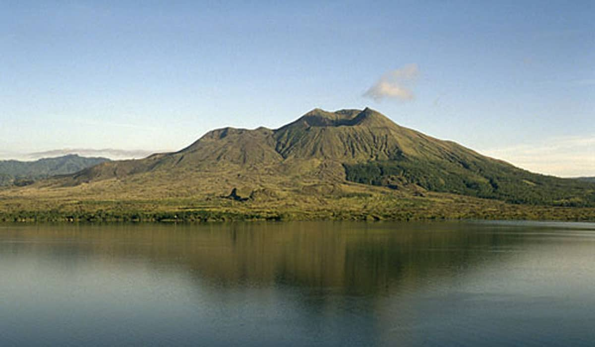 Batur volcan lac Bali
