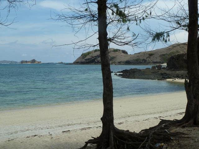 belle plage kuta lombok indonesie