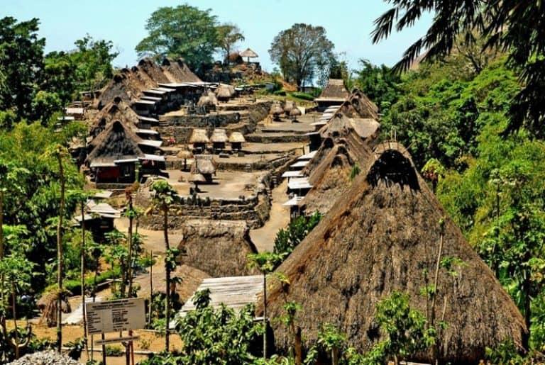 Bena Village Flores indonesie