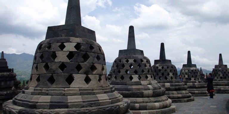 borobudur ile de java indonésie patrimoine