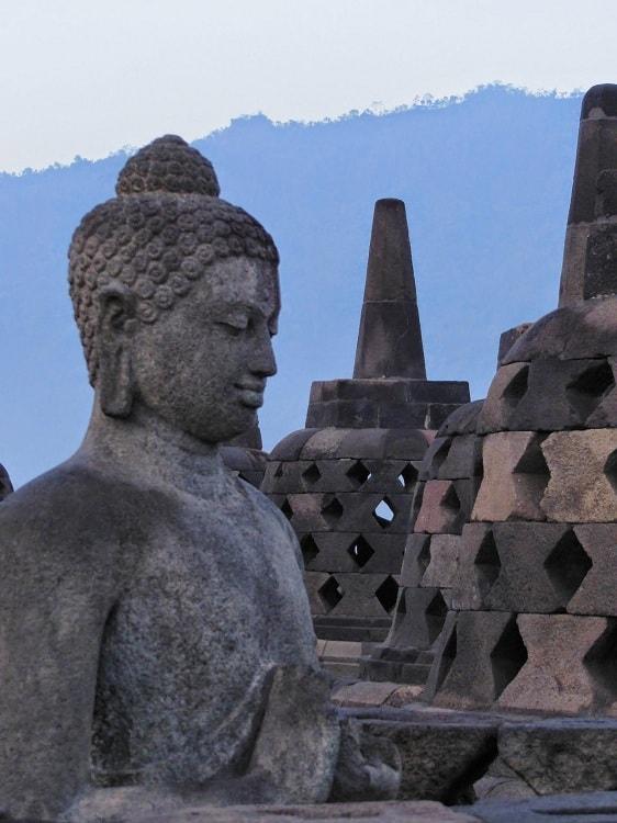 Borobudur ile de java est temple