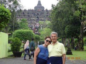 temple majestueux de Borobudur
