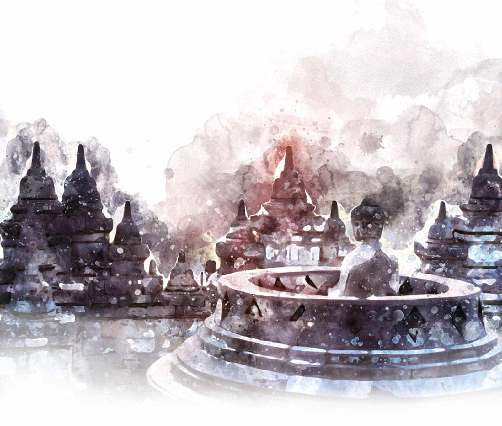 temple de Borobudur voyage Java