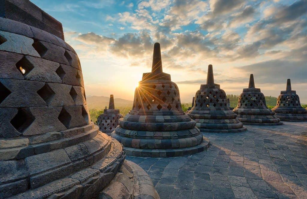 voyage indonesie temple borobudur java