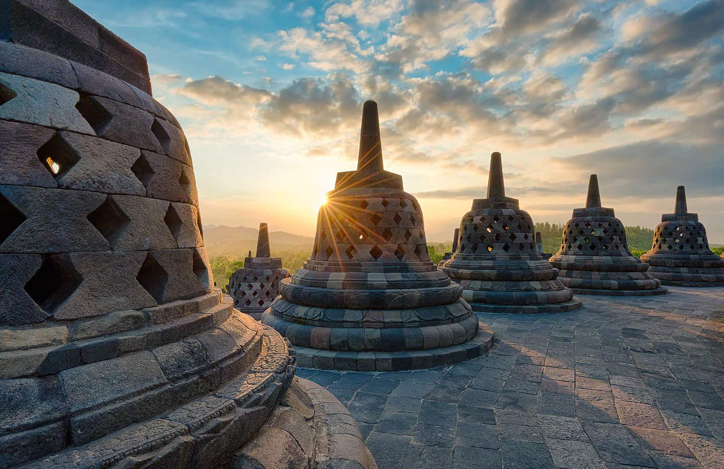 voyage indonesie temple borobudur java