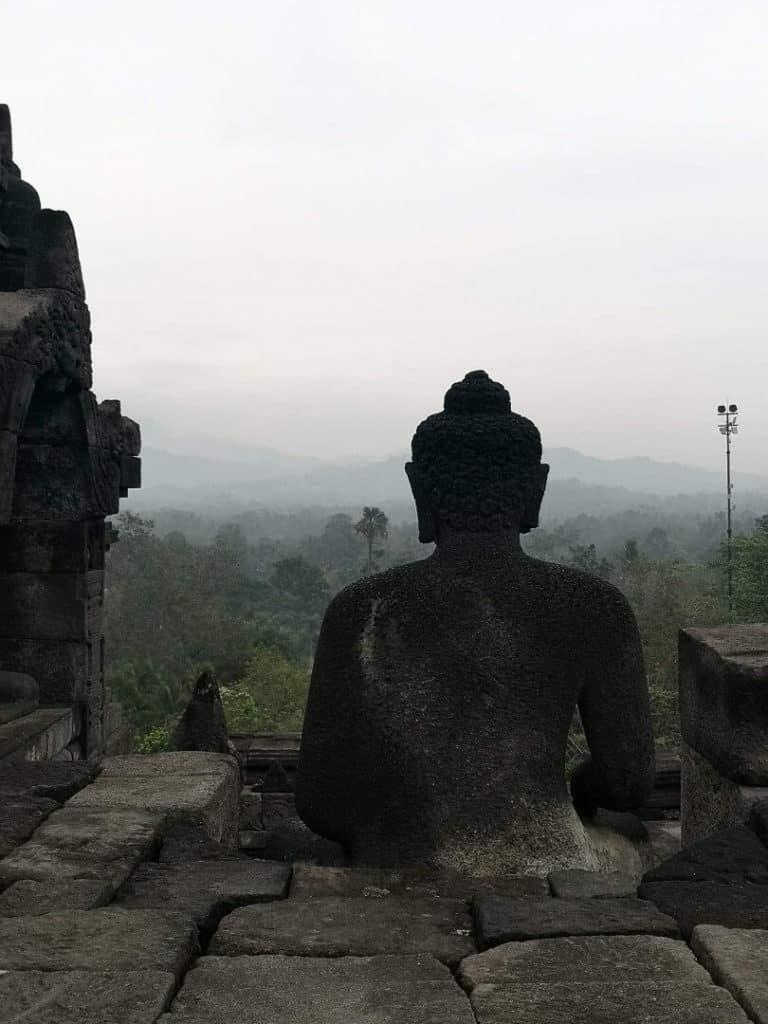Borobudur zen java indonesie
