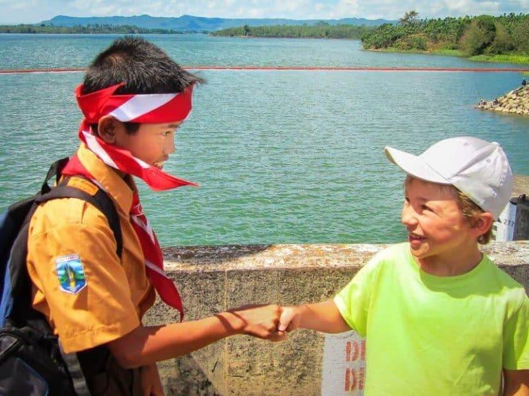 scouts Indonésie enfants
