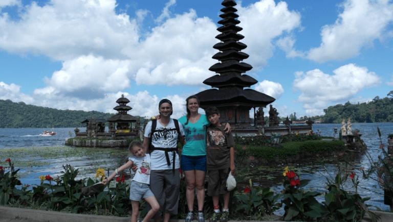 Bratan temple incontournable Bali