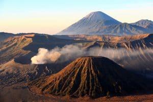 bromo volcan île de java indonésie