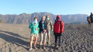 volcan bromo ile de java indonésie