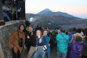 bromo volcan ile de java indonésie