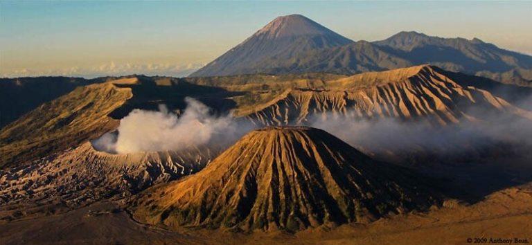 Mont Bromo volcan Java