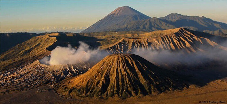 Mont Bromo volcano Java bali view