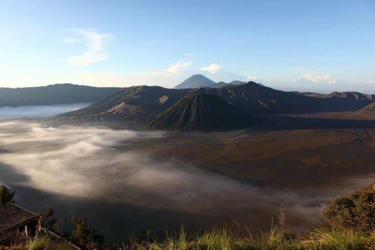 caldeira volcan Bromo Java