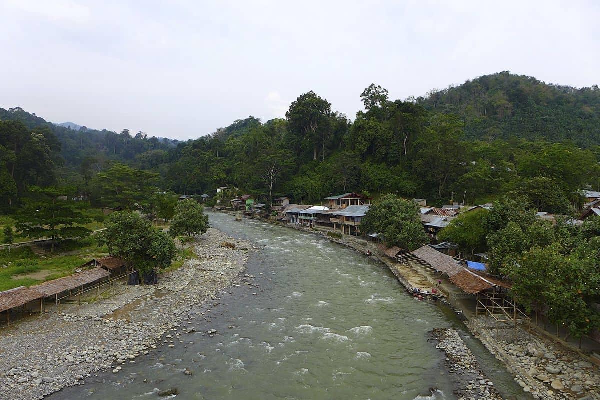 Bukit Lawang rivière sp-6