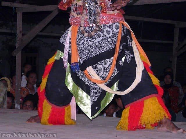 buto danse javanaise ile indonesie