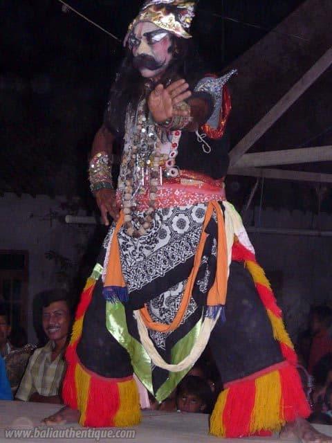 buto danse javanaise indonesie