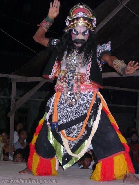 buto danse javanaise representation locale