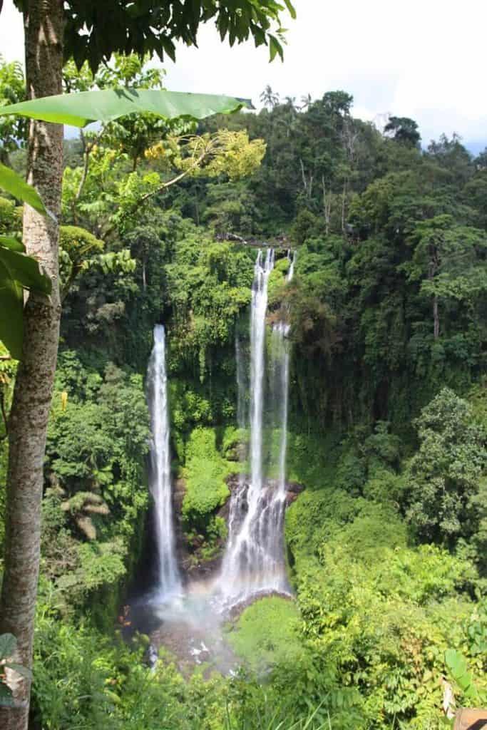 cascades bali nature