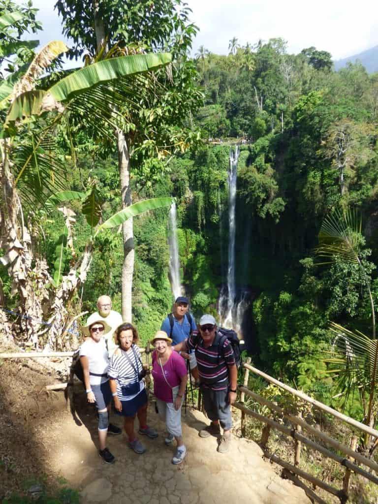 cascades chutes d'eau sekumpul bali