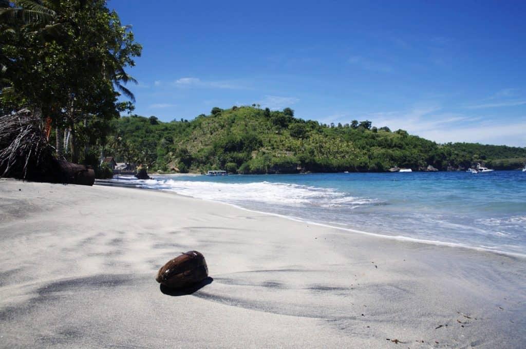 Castaway plage Nusa Penida Bali