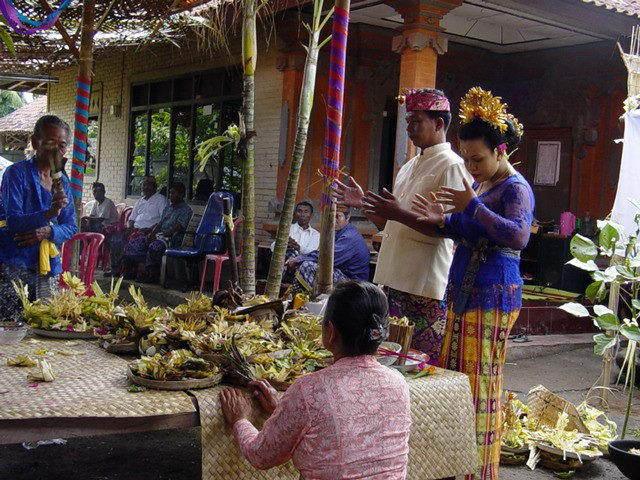 cérémonie mariage balinais découverte