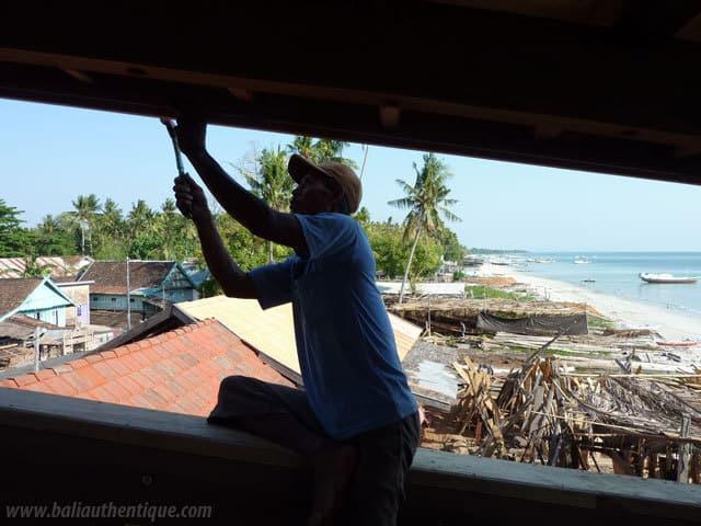 chantier bateau sulawesi bugis indonesie