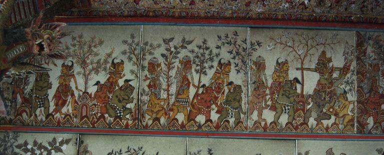 château klungkung vieux histoire de la peinture