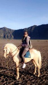 Bromo activité indonésie balade à cheval